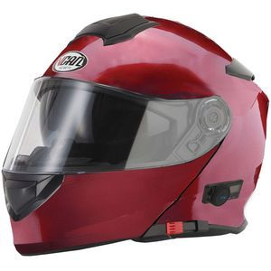 V-CAN V271 Blinc Bluetooth 5 Helmet - Burgundy