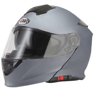 V-CAN V271 Flip-Up Helmet - Matt Titanium