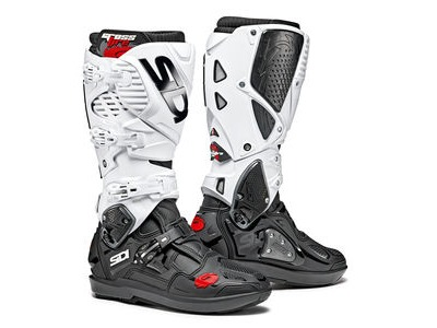 SIDI Crossfire 3 SRS Black/White Special Order CE EC 40