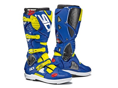 SIDI Crossfire 3 SRS Yellow Fluo / Blue CE