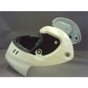 SHOEI Syncrotec Chin Section White
