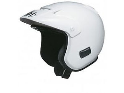 SHOEI TR3P Plain White