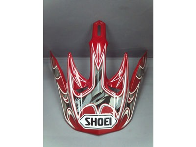 SHOEI Peak V-Moto Veer TC1 Red*