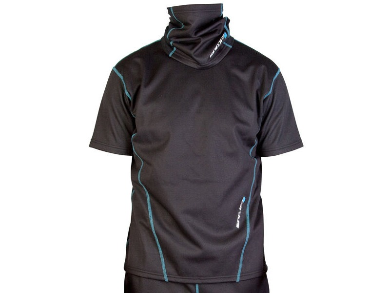 SPADA Chill Factor2 Short Sleeve Shirt Black click to zoom image
