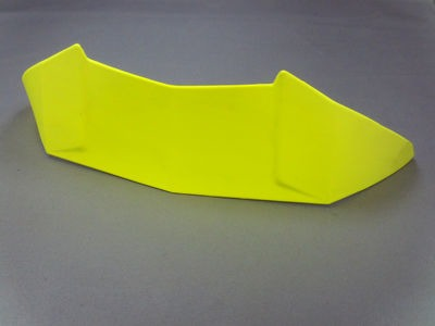 SPADA RP-One Rear Spoiler Fluo Yellow