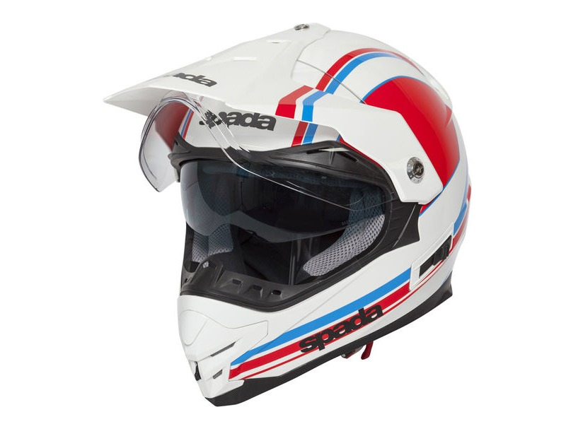 SPADA Intrepid Delta White/Red/Blue click to zoom image
