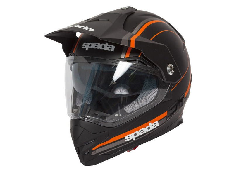 SPADA Intrepid Delta Black/Orange click to zoom image