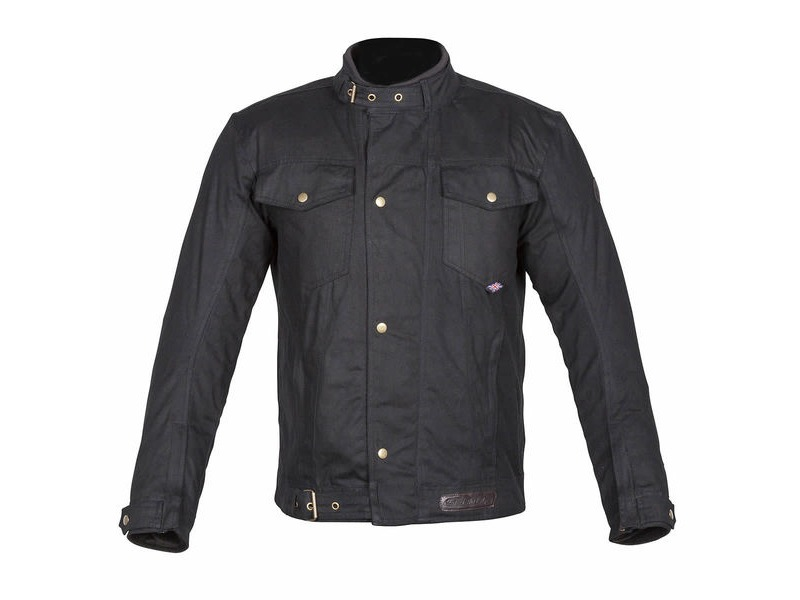 SPADA Textile Jacket Union Wax Black* click to zoom image