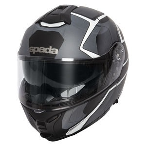 SPADA Helmet Orion Slate Matt Black/White/Silver