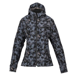 SPADA Textile Jacket Pit Lane Ladies CE WP Camo Grey