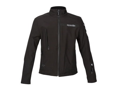 SPADA Textile Jacket Commute CE WP Black