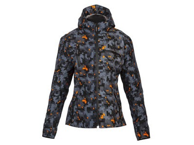 SPADA Textile Jacket Pit Lane Ladies CE WP Camo Orange