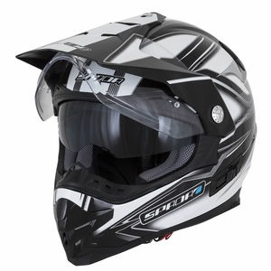 SPADA Helmet Intrepid Mirage White/Grey/Black*