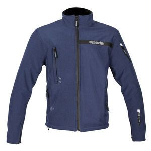 SPADA Textile Jacket Commute CE WP Blue